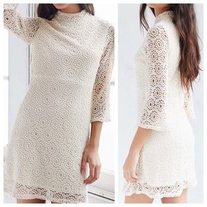 Cooperative Urban Outfitters Ivory Lace Dress